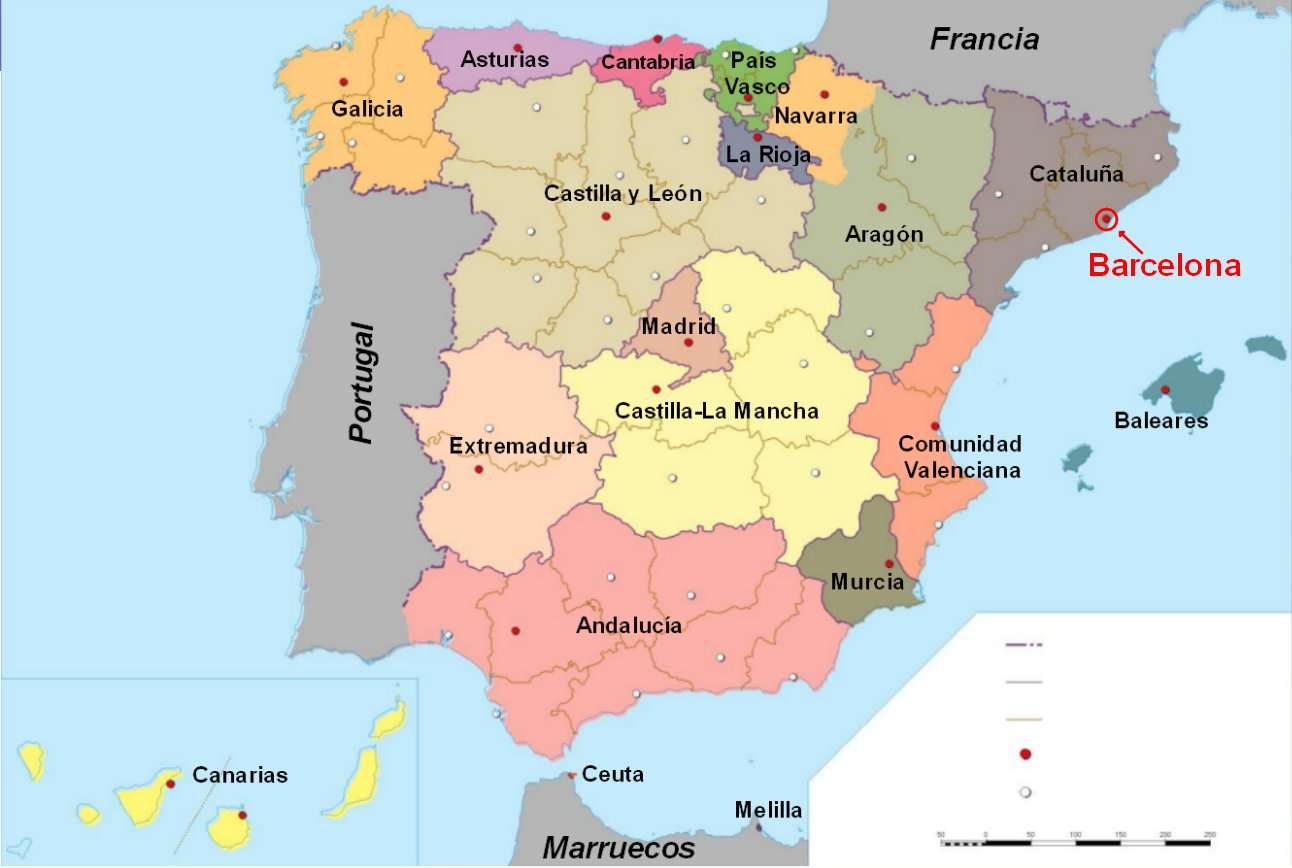 San Sebastian Mapa España.Level 3 Spain S Billionaires 20 Memrise