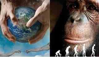 Thuyết tiến hóa, vượn người