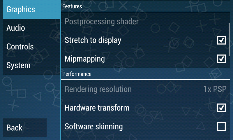 how to add games to ppsspp