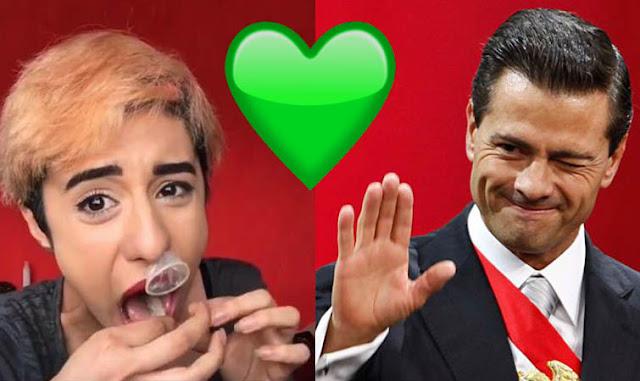 La Mars defiende a Peña Nieto y lanza insultos a los mexicanos (VIDEO)