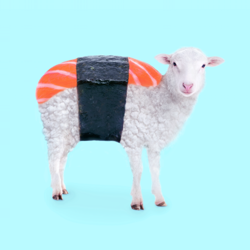 """Susheep"" por Paul Fuentes 