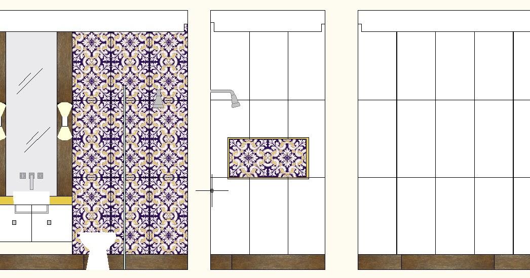 Construindo Um Castelinho Paginação Dos Banheiros