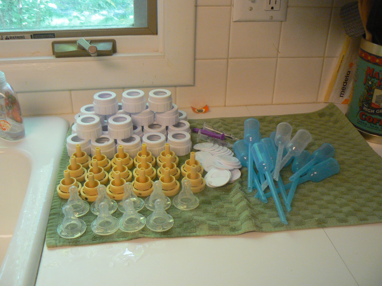 A Beautiful Ruckus: How to Wash and Prep Bottles for Multiples