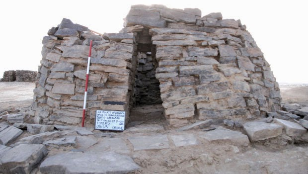 More on 2,300 year old grave found in Oman