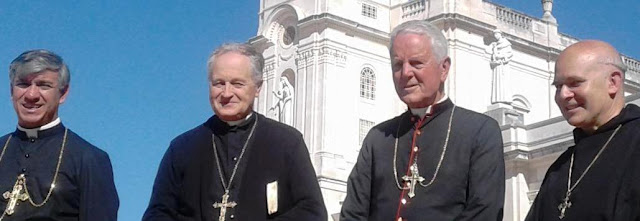 PILGRIMAGE OF THE FOUR RESISTANCE BISHOPS TO FATIMA (PHOTOS