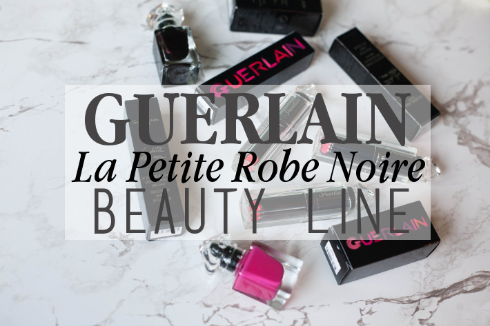 Beauty: Guerlain La Petite Robe Noir lipstick and nail polish review