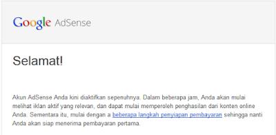 Hindari Hal Ini Untuk Mendapatkan Full Approve Review Kedua Google Adsense