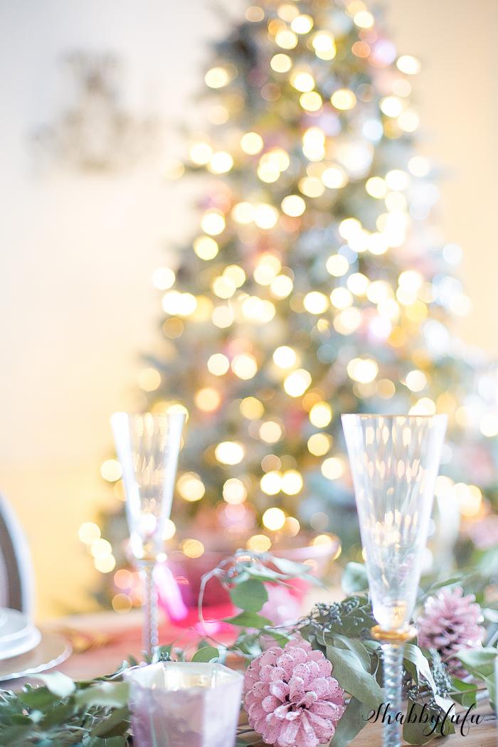 shabbyfufu table setting christmas