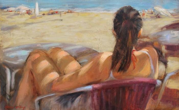 Современные художники Испании. Monica Castanys 3