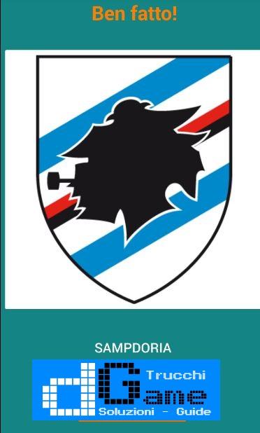 Quiz Squadre di Calcio! soluzione livello 71-80
