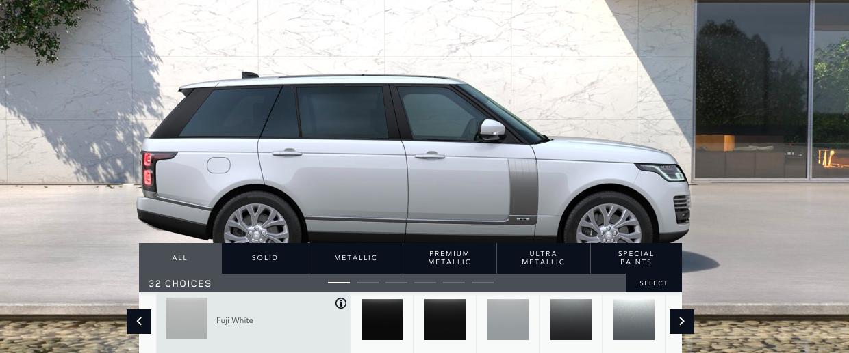Màu trắng sữa trên mẫu Range Rover Autobiography LWB 2019 model 2020