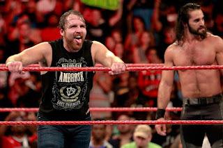 WWE Seth Rollins Shield SummerSlam Dean Ambrose
