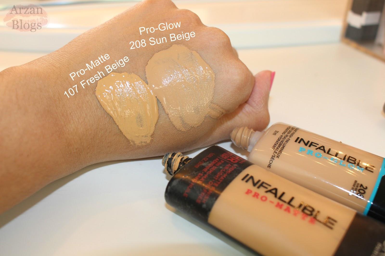 Infallible Pro-Matte Liquid Longwear Foundation by L'Oreal #21