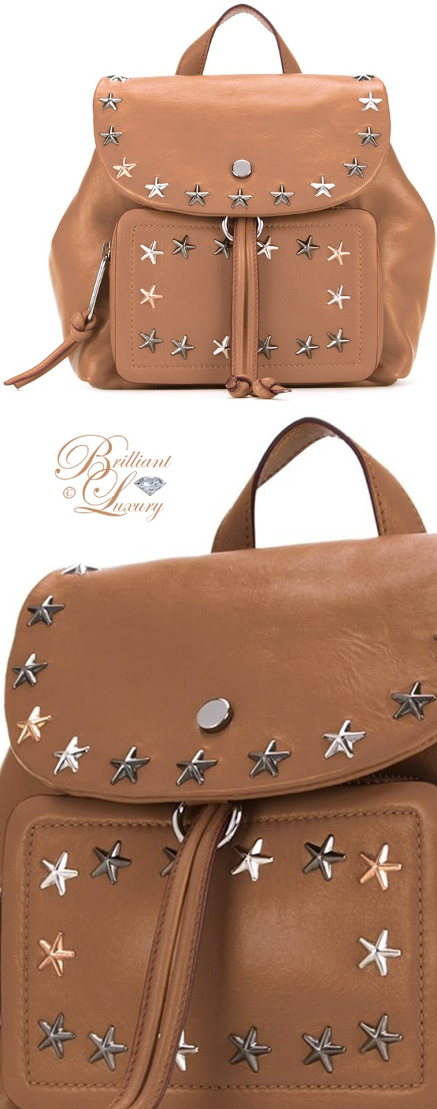 Brilliant Luxury ♦ Jimmy Choo Suki Backpack