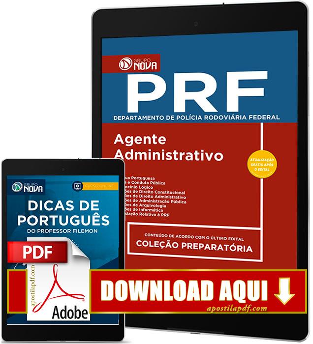Apostila PRF 2017 PDF Download Agente Administrativo