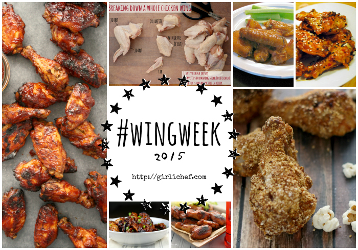Wrapping Up #wingweek 2015 at allroadsleadtothe.kitchen + 41 more chicken wing recipes
