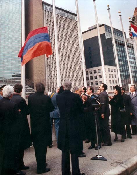 Hace 27 años Armenia se convertía en miembro de la ONU