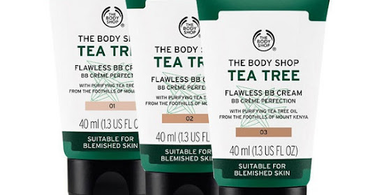 [Review] The Body Shop Tea Tree Flawless BB Cream 02 Medium