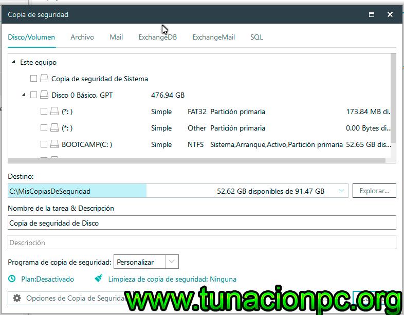EASEUS Todo Backup Advanced Server Full Español con Licencia