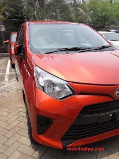 Mobil Calya   Orange Keren