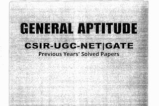 GENERAL APTITUDE FOR CSIR NET & GATE