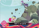 My Little Pony Maud to the Rescue Equestrian Friends Trading Card
