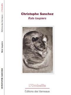 Rats Taupiers, éditions des vanneaux, juin 2016