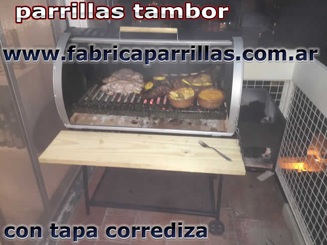 parrillas tambor