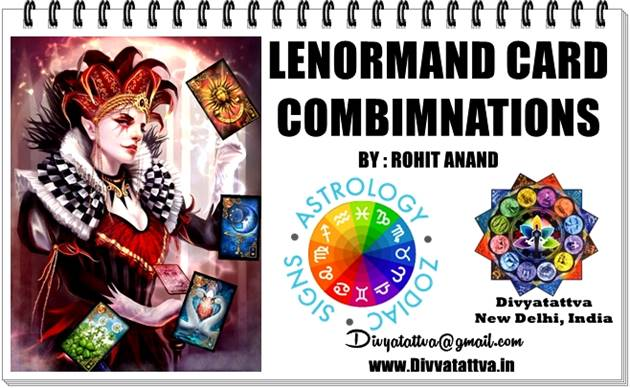 Lenormand Lily 30 Card Combinaiton Meanings Readings Predictions