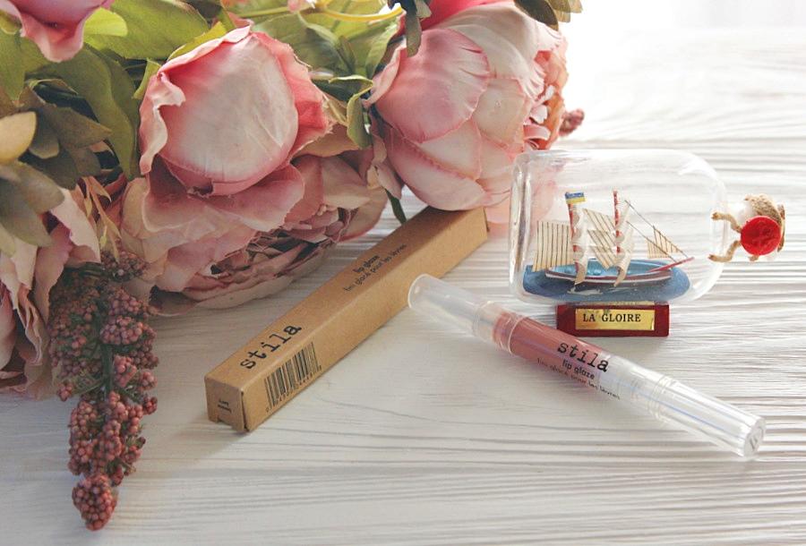 Блеск-глазурь для губ Stila Lip Glaze в оттенке #banana berry / обзор, отзывы, фото