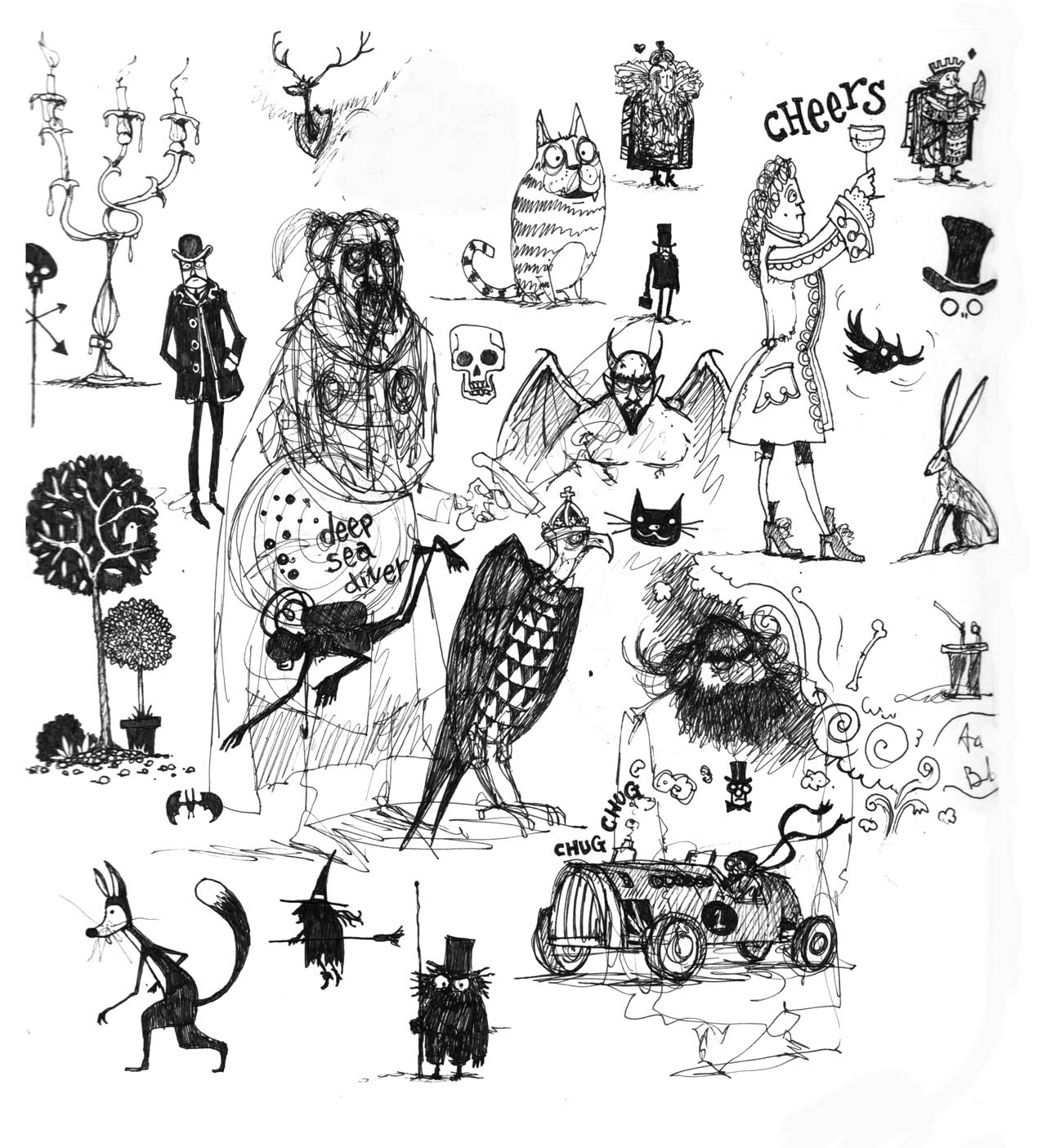 The Scribblemanic World Of Chris Mould January