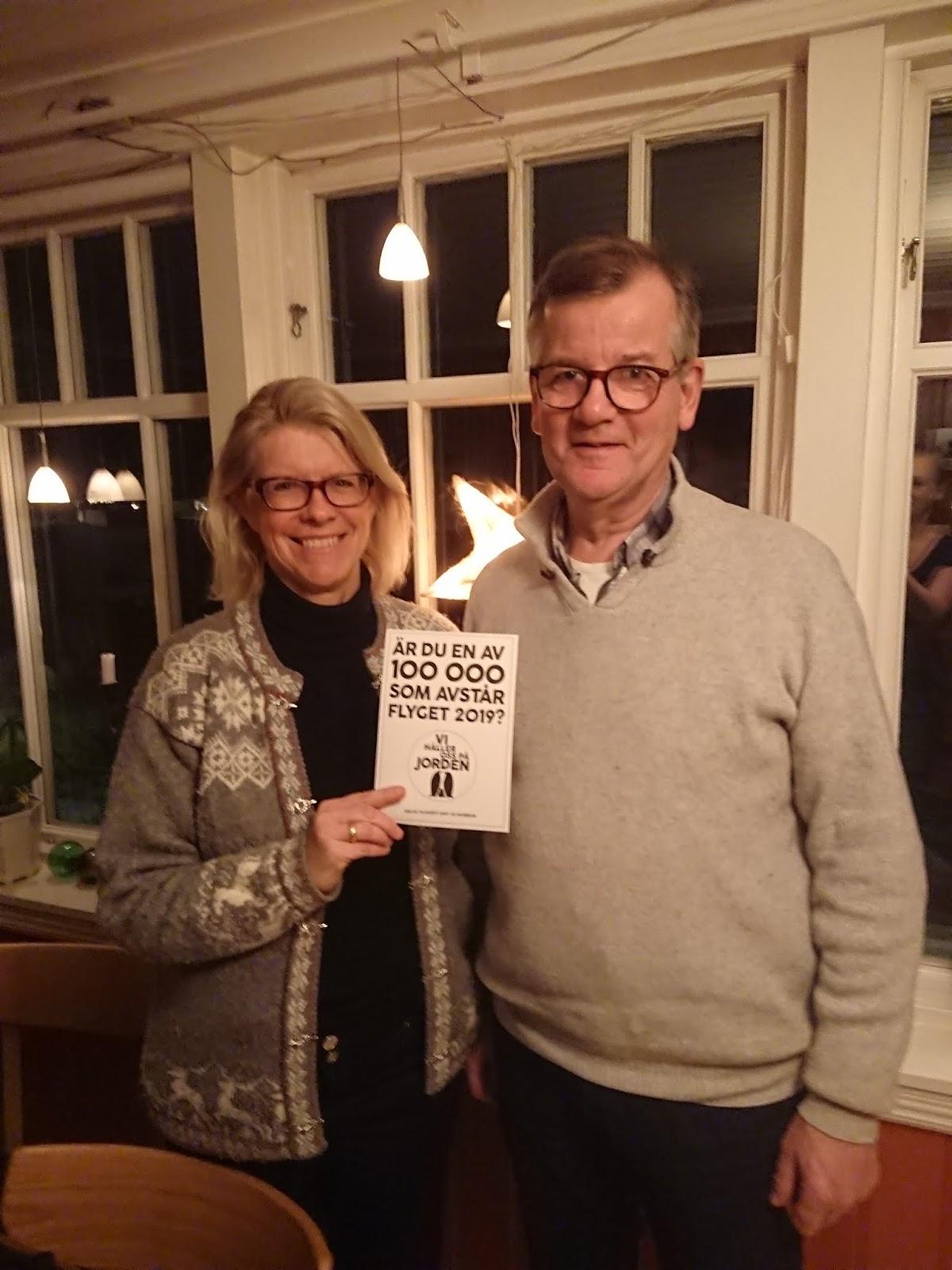 Foto på Annica och Magnus Lagström