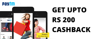 Paytm Mall – Get Rs 200 Cashback on Rs 299 Fashion Accessories Shopping