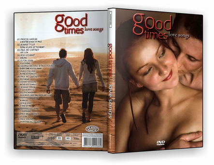 CAPA DVD – Good Times Love Songs – DVD-R