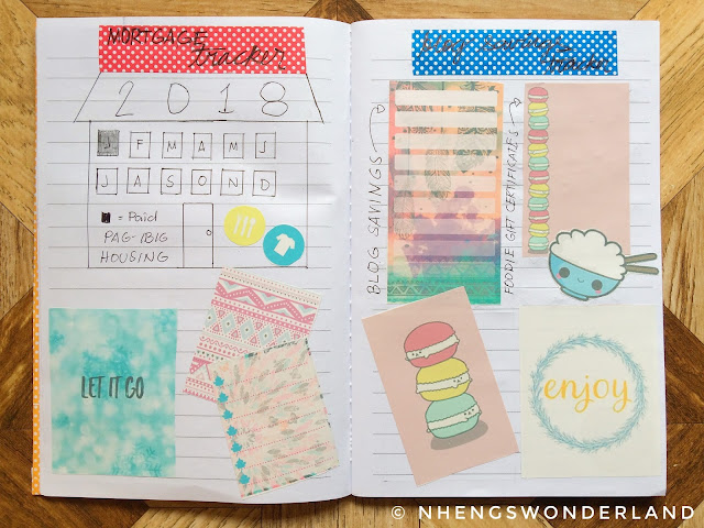 My 2018 Budget Planner Tracker - Mortgage and Blog Savings Tracker