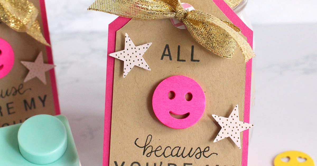 For The Love Of Paper Quick Teacher Gift Emoji Sticky Notes