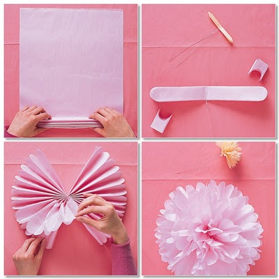 Diy Tissue Paper Tulle Topiary Juggling Act Mama