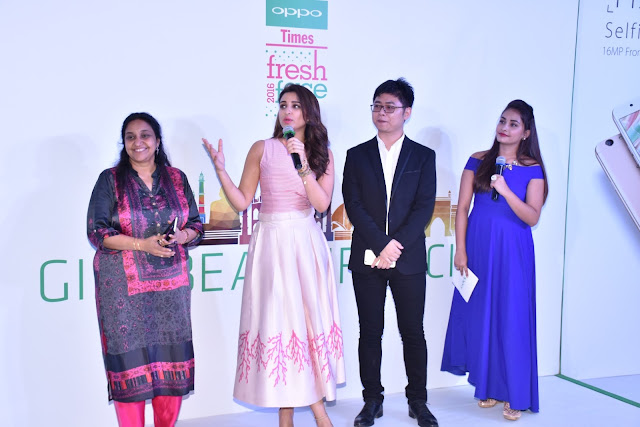 """Parineeti Chopra in Western Outfit at Oppo Launch Campaign """"Beautiful City"""""""