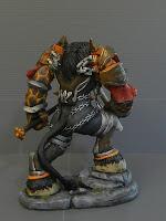 statuine mostri guerrieri maghi sciamani personalizzate tauren orme magiche