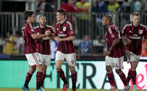 AC Milan có thành tích yếu kém ở mùa giải 2014-2015.
