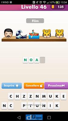 Emoji Quiz soluzione livello 46
