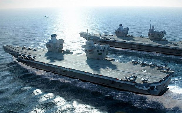 War News Updates: British Aircraft Carrier Costs 'To Double'