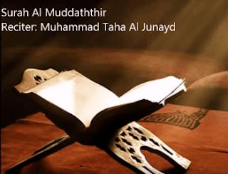 Surah Al Mudatsir termasuk kedalam golongan surat Surat | Surah Al Mudatsir Arab, Latin dan Terjemahannya