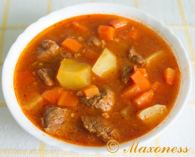 Суп «Эстофадо». Мексиканская кухня