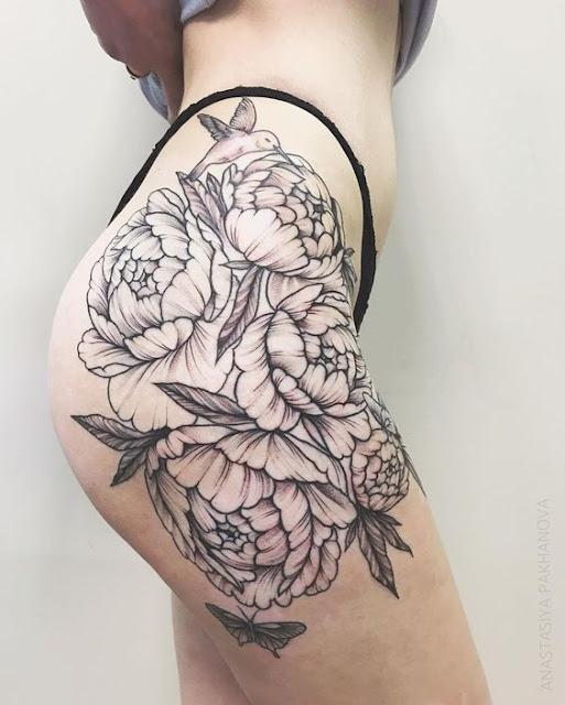 27 Tatuagens femininas delicadas, sexys e sensuais para inspiração