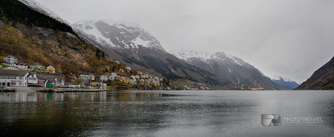 Panorama Oddy w Norwegii