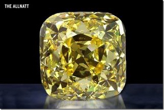 Roximate Price 30 Billionthe Diamond Is A Measuring Allnatt 101 29 Carat 20 258 G With Cushion Cut Rated In Color As Fancy Yellow
