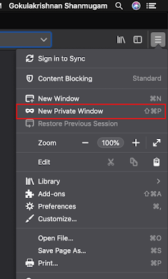Enable Private Browser in Firefox Desktop