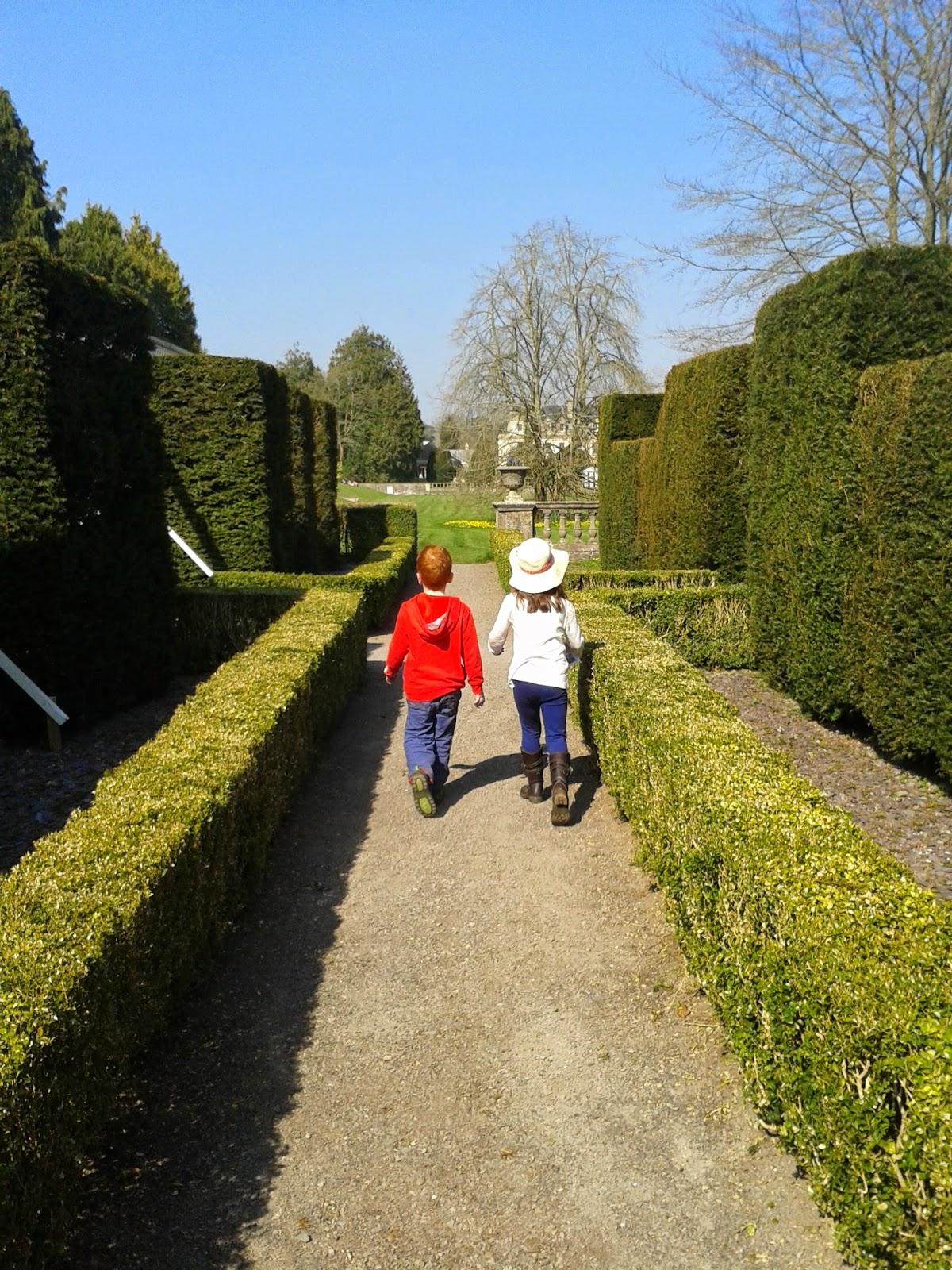 Caitlin & Ieuan at Dyffryn Gardens, Vale of Glamorgan