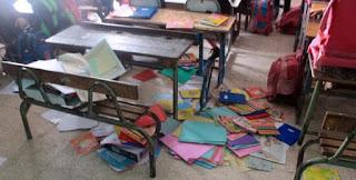 مدرسة ابتدائية تتعرض إلى تخريب ومحاولة التحرش بأستاذة متزوجة بأزيلال